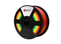Tlačová struna C-TECH, PLA Rainbow 1,75 mm 1kg