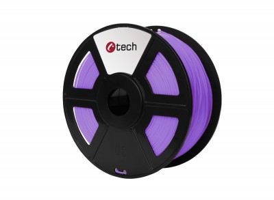 Tisková struna C-TECH, PLA Purple 1,75 mm 1kg