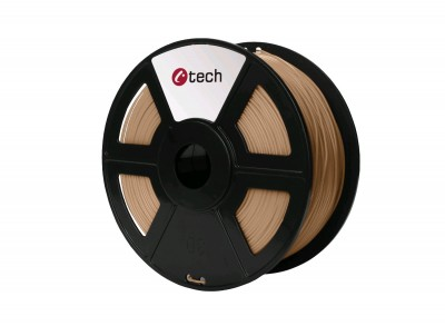 Tlačová struna C-TECH, PLA Wood 1,75 mm 1kg