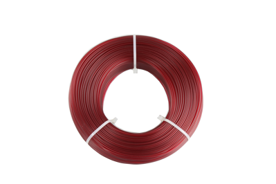 "REFILL PET -G  BURGUNDY ""transparent"" 1,75 mm F / 0,85 kg"